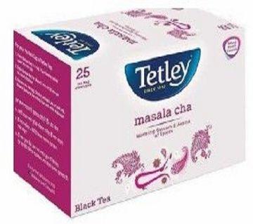 Tetley Flavour Tea Bag - Masala - 25pcs/50g