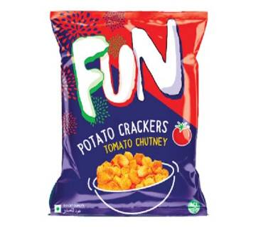 ACI Fun Potato Crackers (Tomato Chutney) - 20 gm