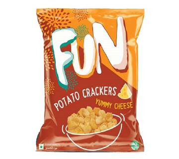 ACI Fun Potato Crackers (Yummy Cheese) - 20 gm - ACIFOOD-327030