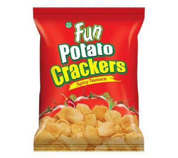 ACI Fun Potato Crackers (Spicy Tomato-Green) - 20 gm - ACIFOOD-327026