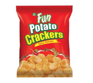 Fun Potato Crackers (Spicy Tomato-Red) - 20 gm - ACIFOOD-327024