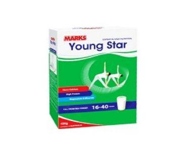 Marks Young Star F.C Milk Powder 400 gm