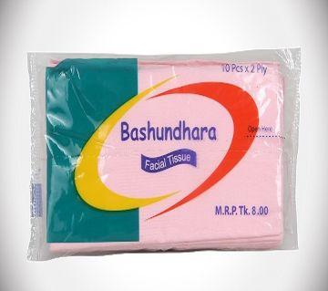 Bashundhara Facial Tissue Poly (10pcs)