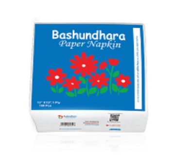Bashundhara Paper Napkin (80 Pcs.)