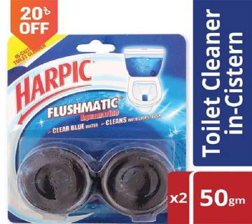 Harpic Flushmatic Toilet Cleaner Twin Pack-Buy 1 Save