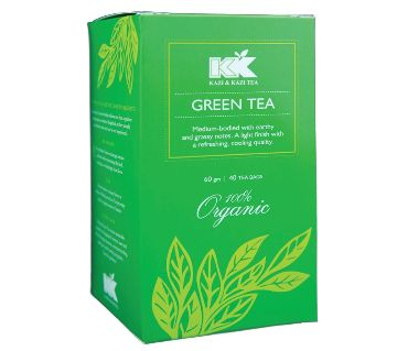 Kazi & Kazi Organic Green Tea (60g/40 bags)