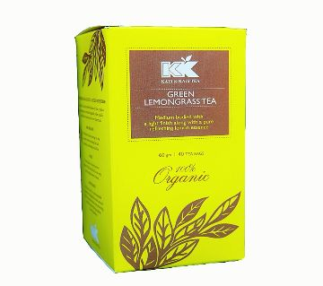 KK Green Lemongrass Tea Box 40 Sachets (60 gm)