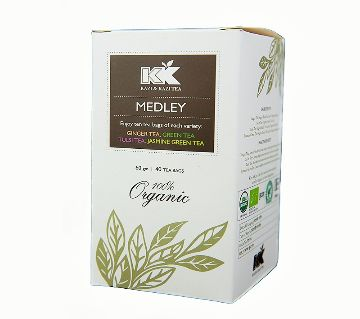 KK Medley Tea Box 40 Sachets (60gm)