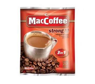 Maccoffee Strong Orignal 3in1 Pack 360gm
