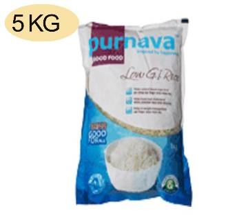 Purnava Low Gi Rice 5kg Pack
