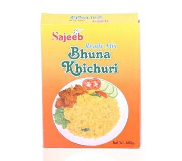 Sajeeb Ready Mix Bhuna Khichuri - 500 gm
