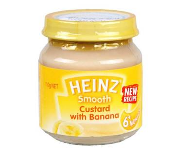 Heinz Banana Custard - 110gm - 7MWLAT (503134)
