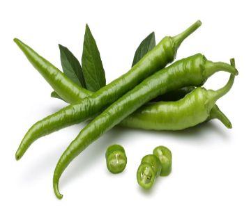 Green Chili (Kacha Morich)  250gm
