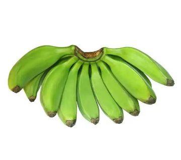 Green Banana (Kacha Kola)  4pcs