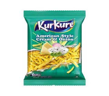 Kurkure Cream & Onion Chips  50g