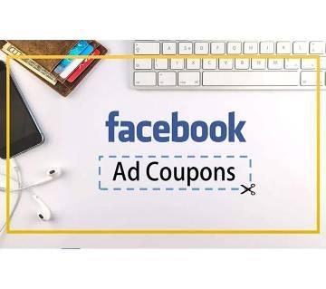 Facebook Coupon 5$