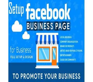 Full FaceBook Business Page Setup.