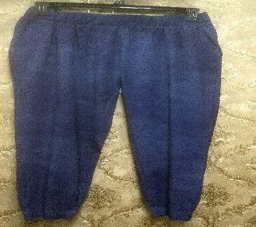 Ladies Spandex Western Blue Trousers
