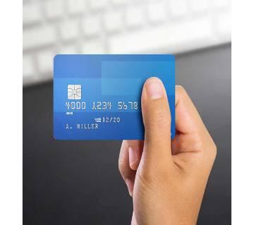 5 Dollar USA Vertical Credit Card