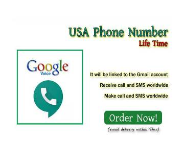 USA Phone Number life time - Google Voice