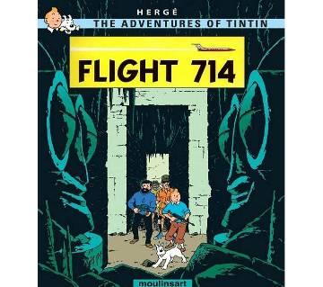 Tintin and the Flight 714 (E-Reader)
