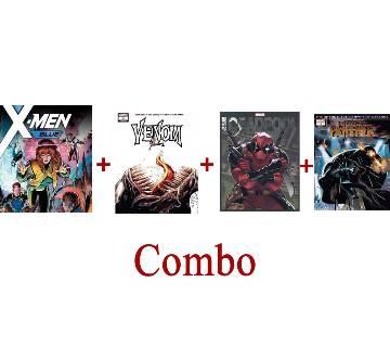 4 Action Packed Superhero Comics (E-Reader)