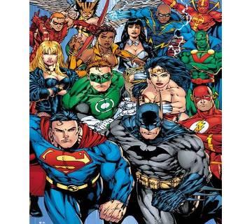 DC Universe 15 Action Packed Superhero (E-Reader)