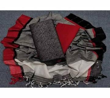 Unstitched Tat Original Cotton Multi Color Deshi Shalwar Kameez-1
