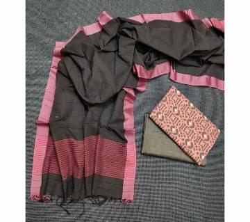 Unstitched Tat Original Cotton Multi Color Deshi Shalwar Kameez-30