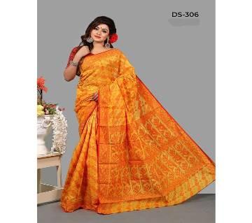 Multicolour Jamdhani Silk Saree with Blouse Piece for Women-51