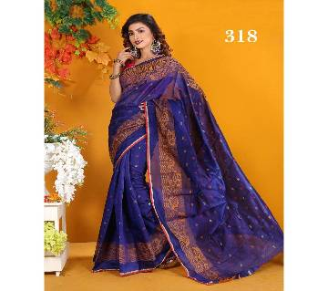 Multicolour Silk Jamdhani Saree with Blouse Piece for Women-318