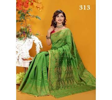 Multicolour Silk Jamdhani Butique Saree with Blouse Piece for Women-313