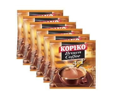 Kopiko Brown Coffee - 20gm x 6pcs -Combo
