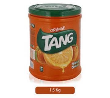 Tang Plastic Jar - Orange - 1.5 kg