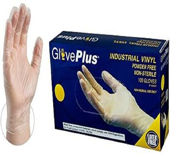 Vinyl Gloves - 100 Pcs Per Box