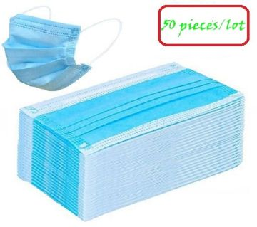 3-Layer Surgical Mask (50 Pieces Combo)