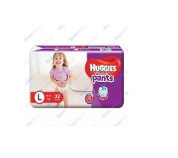Huggies Pants Diaper Dry (32pcs) - L - (9-14kg)