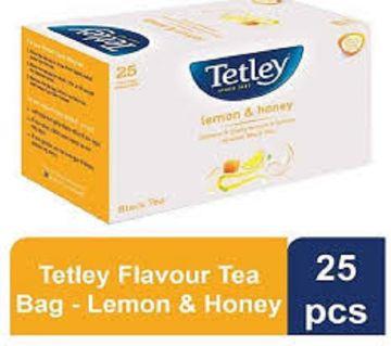 Tetley Flavour Tea Bag - Lemon & Honey - 25 pcs/ 50 gm
