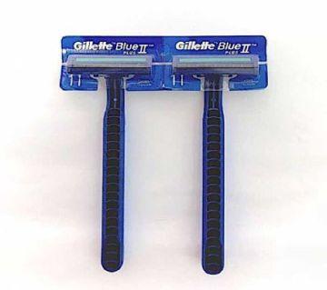 Gillette Blue 2 Razor 1 Piece