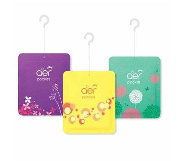 Godrej Aer Pocket 3 Pcs Bundle