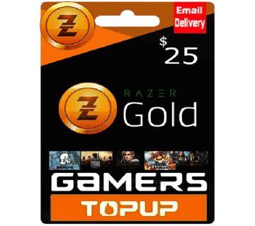 Razer Gold Pin 25$ - USA Region