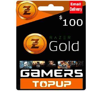 Razer Gold Pin 100$ - USA Region