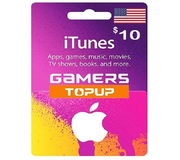 iTunes Gift Card 10 USD - US Region