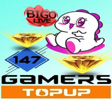 BIGO  Live 147 Diamonds  (Direct Top Up)