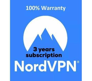 NordVPN Account Premium 3 YEARS SUBSCRIPTION