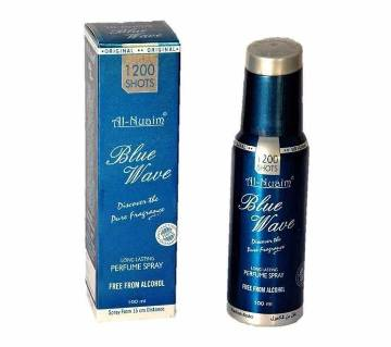 Al Nuaim Blue Wave 100ml 1200 Shots Perfume