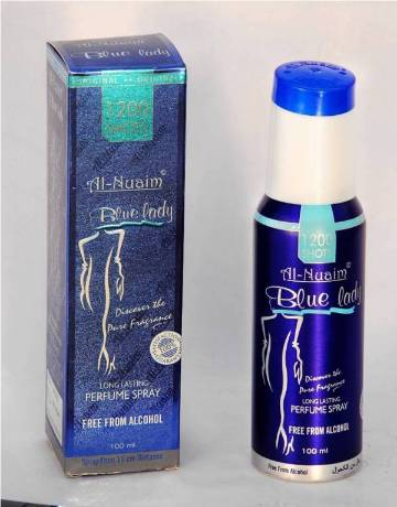 Al Nuaim Blue Lady 100ml 1200 Shots Perfume
