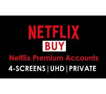 Netflix Premium Account ( 1 Month) - 4 Screen HD