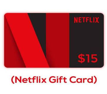 15$ Netflix Gift Card-Email Delivery