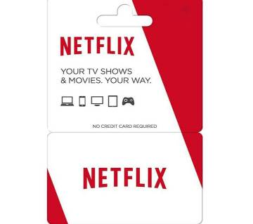 30$ Netflix Gift Card- Email Delivery